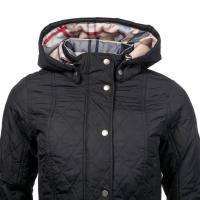 Barbour millfire quilted womens jacket p17348 600483 image