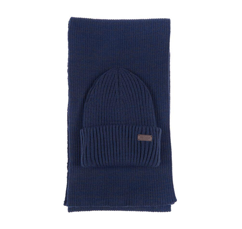 Ensemble cadeau bonnet echarpe