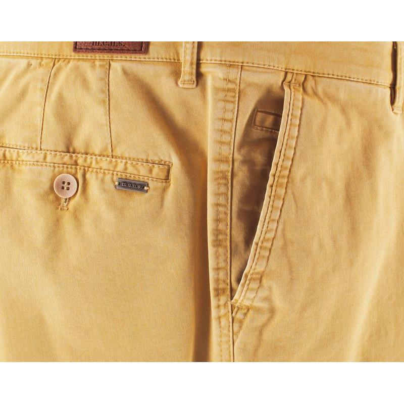 Pantalon mens 4811 madison jaune paille 1